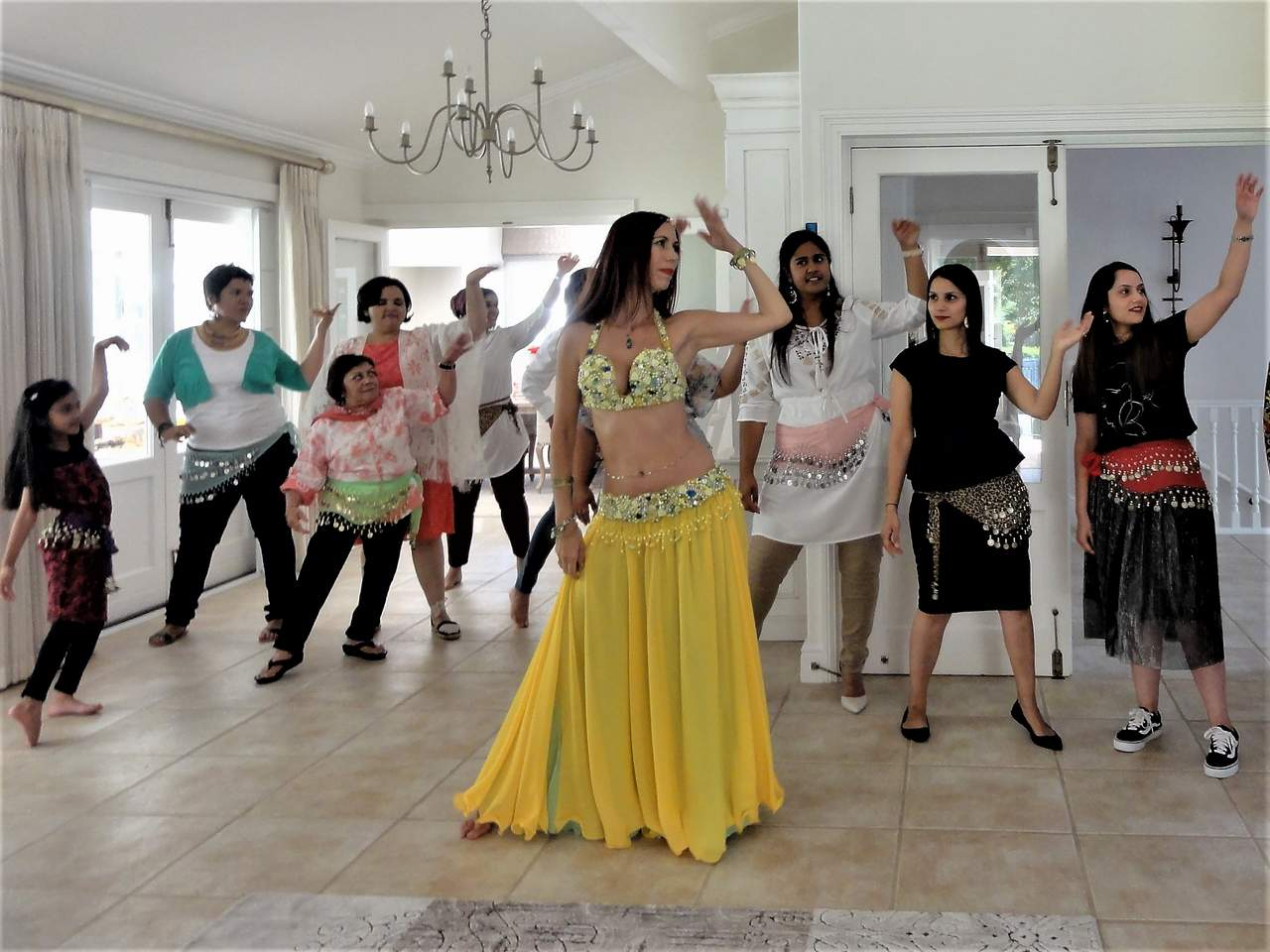 Belly dance lesson 101